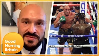 Tyson Fury Trilogy Fight With Deontay Wilder In Doubt Without Fans | Good Morning Britain