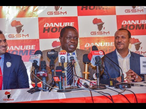 Waziri Mwijage kawapa 100 DANUBE Mlimani City