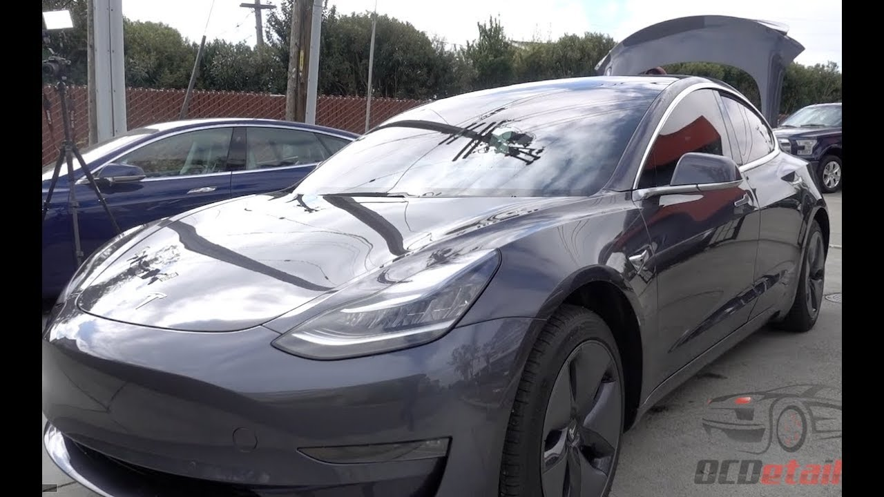 Tesla Model 3 3m Crystalline Window Tint All Around Including Windshield