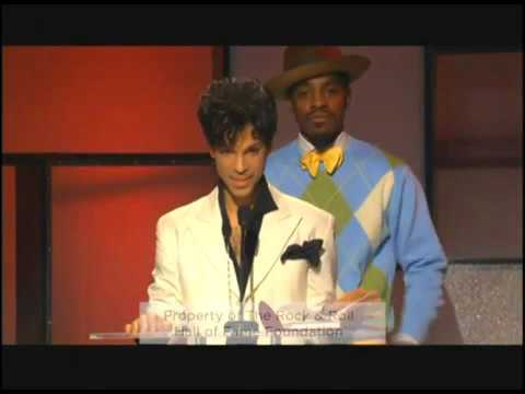 Prince induction speech