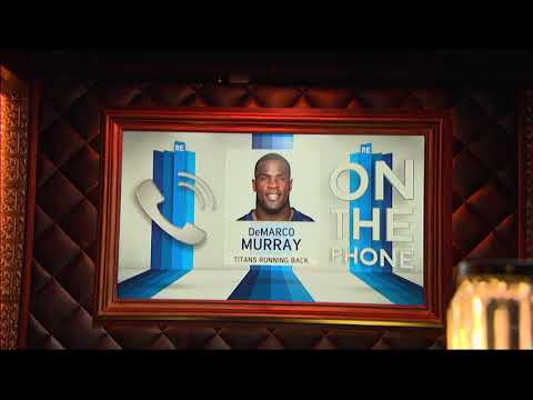 Titans RB DeMarco Murray on Vacationing With Tony Romo - 8/17/17