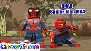 LEGO ANAD Spider-Armor (MK4) Free Roam in LEGO MARVEL's Avengers MOD