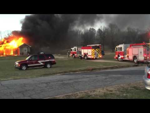 House fire Greer SC