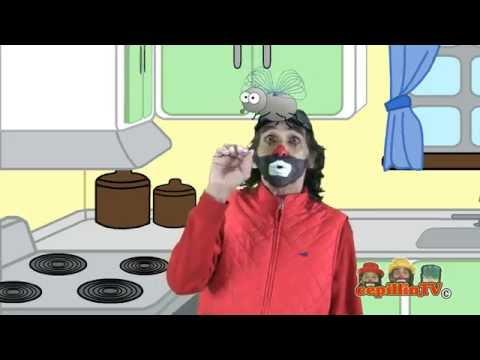 Cepillin y Cepi ( UNA MOSCA PARADA EN LA PARED ) VIDEOCLIP OFICIAL להורדה