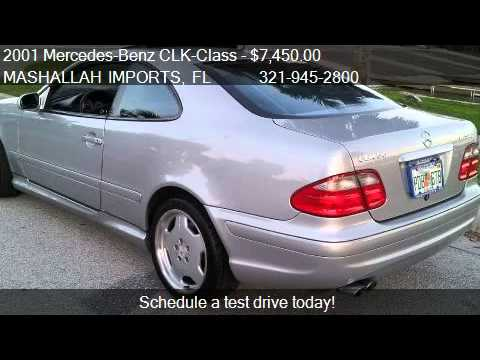 2001 Mercedes Benz Clk Class Clk55 Amg Coupe For Sale In