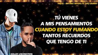 Bryant Myers - Triste ❌bad Bunny
