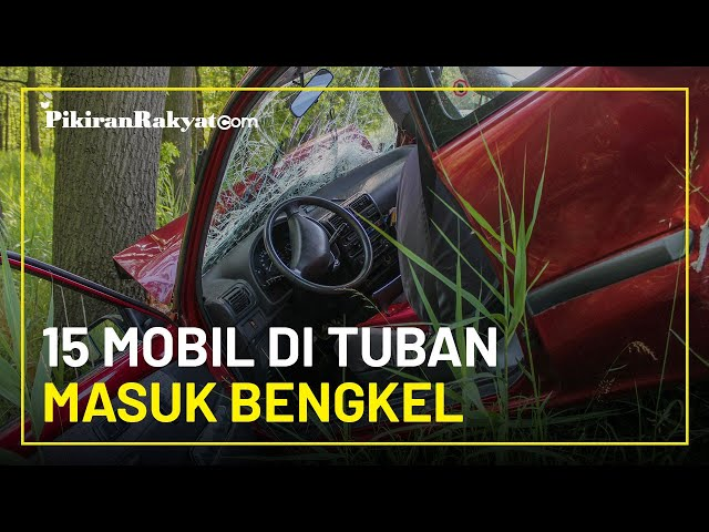 Belum Mahir Berkendara, 15 Mobil Warga Desa Miliarder Tuban Alami Kecelakaan dan Masuk Bengkel