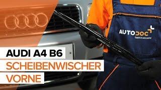 AUDI A4 (8E2, B6) Bremsbelagsatz Low-Metallic auswechseln - Video-Anleitungen