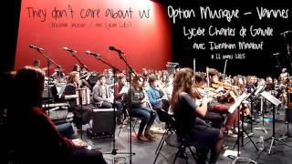 They don't care about us (avec Ibrahim Maalouf) - Lycée CdG, option Musique