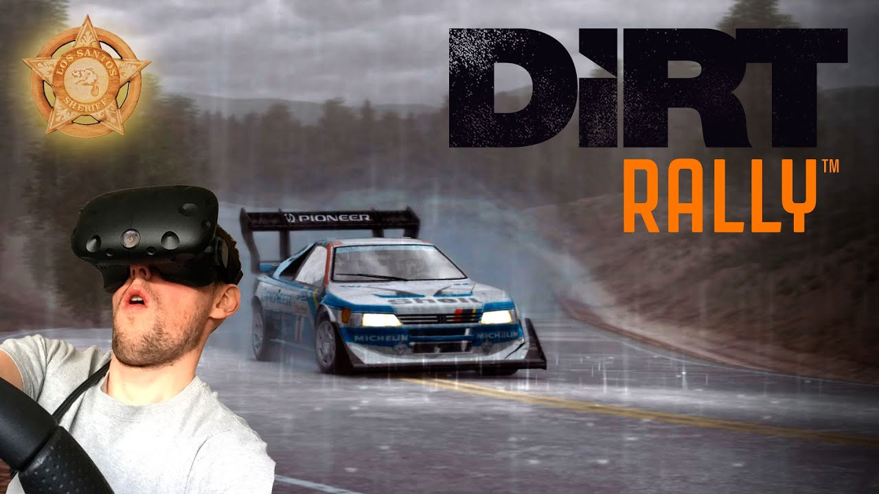 dirt rally vr htc vive first impressions youtube. Black Bedroom Furniture Sets. Home Design Ideas