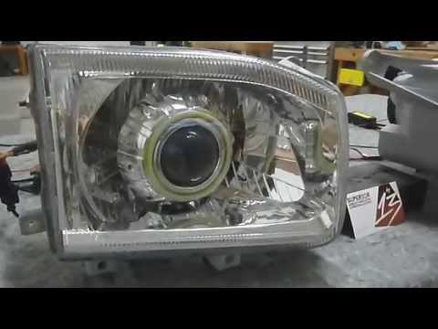 Nissan Pathfinder Projector Retrofit W Halos Amp Hids By 13