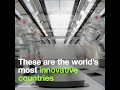 These are the world's most innovative countries