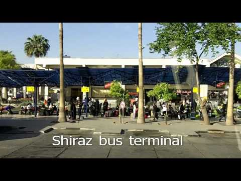 Travel around in Iran by bus