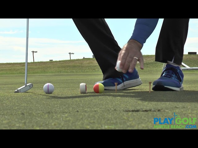 Ted Frick Putting Stroke - Classic Swing Golf School | Myrtle Beach, SC