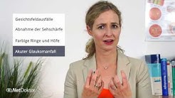 Grüner Star: Warnzeichen - NetDoktor.de