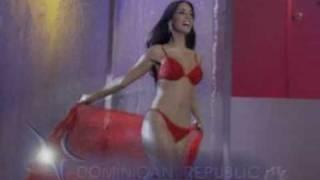 Amelia Vega Miss Universe 2003 Traje de Bano