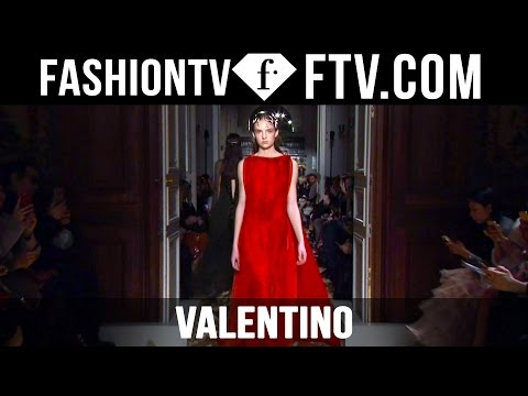 Valentino Designers inspiration at Paris Haute Couture Fashion Week S/S 16 | FTV.com