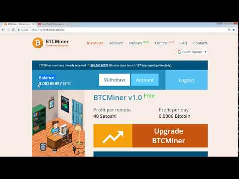 btcminer.services 100% Scam or Fake NO Withdraw 0.00500834 BTC