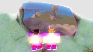 Portale SEGRETo sull'isola galleggiante! Booga Booga Roblox