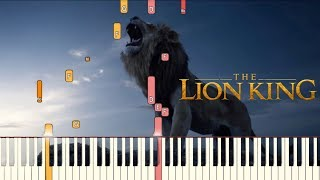Remember - Hans Zimmer (The Lion King) | Piano Tutorial (Synthesia)