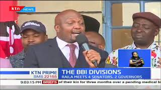 DP Ruto hits at Raila, says he doesn't need invitation to attend BBI forums