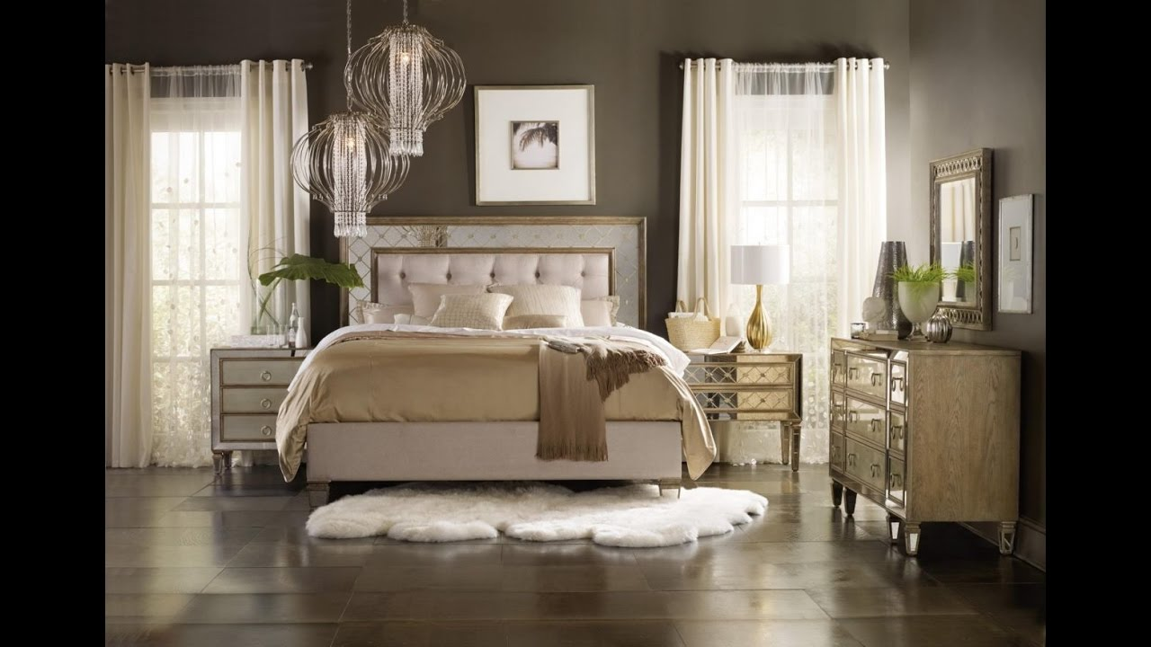 Bedroom Ideas-The Enchanting Mirrored Bedroom Furniture Sets
