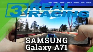 Real Racing 3 on Samsung Galaxy A71  - Check Gaming Performance