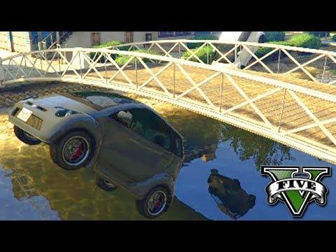 GTA V Online: UM STUNT NA PONTE com PANTO!!! (FOI ÉPICO)