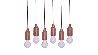 Improvements 6pk Indoor/Outdoor Pull Lights w/Remote thumbnail