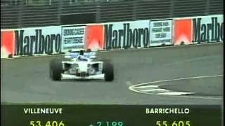 Rubens Barrichello (Stewart SF01) qualifying run - 1997 Australian Grand Prix.
