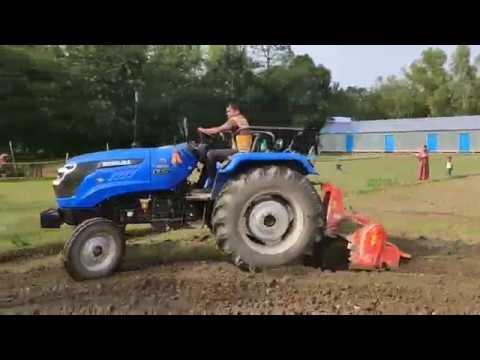 Sonalika Tiger Tractor Cultivation Demo