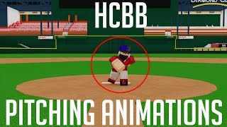 INSANE NEW PITCHING ANIMATIONS | HCBB (ROBLOX)