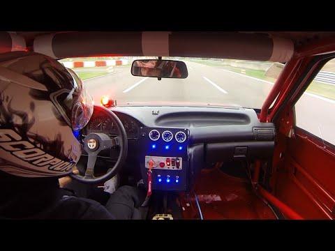Opel Astra GSI 16V Turbo Acceleration Sound