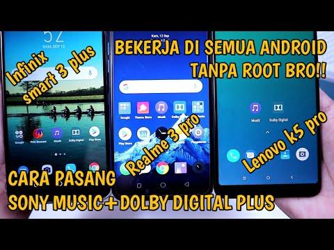 Pengen Pasang Dolby+Sony Music Di Android Tapi Belum Root? Begini Caranya
