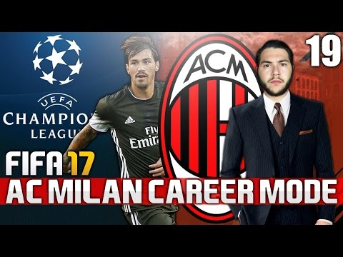 FIFA 17 | AC MILAN CAREER MODE | #19 | BACK IN CHAMPIONS LEAGUE!