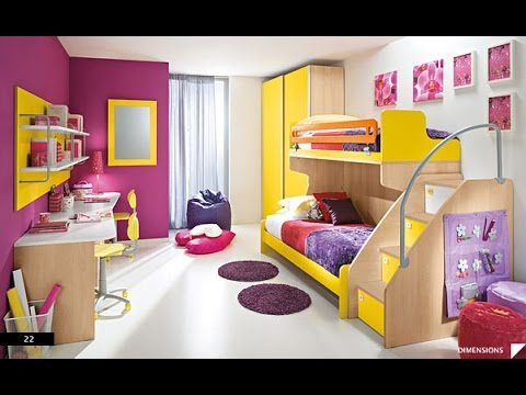 Cool beds for boys - 20 Exclusive Kids Room Design Ideas For Girl And Boys Youtube
