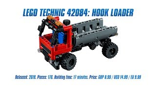 LEGO Technic 42084: Hook Loader In-depth Review & Speed Build [4K]