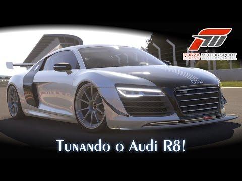 Tunando o Audi R8! - Sideways (Transformers)   Forza Motorsport 5 [PT-BR]