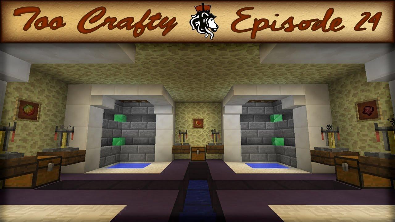 Minecraft Potion Room Too Crafty 24 Youtube