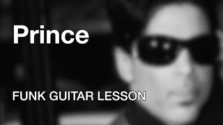 prince funk guitar lesson chelsea rodgers