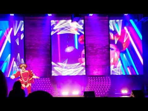 "Eureka O'Hara performing ""This Is Me"" in Kansas City, Mo - The Werq the World Tour 2018"