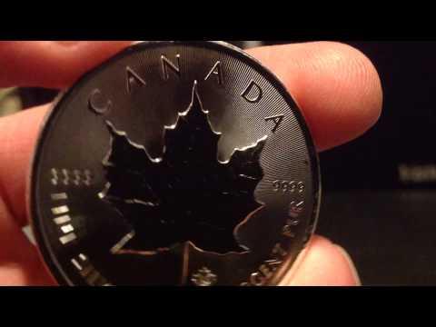2014 Canada Silver Maple Leaf Unpackaging
