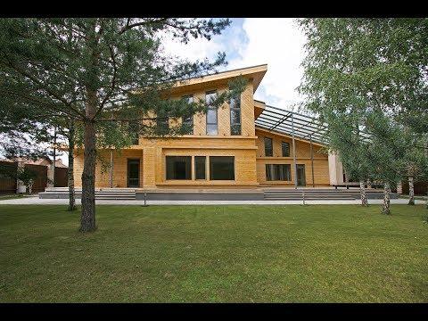Купить дом Горьковское шоссе | Красивый дом из дерева
