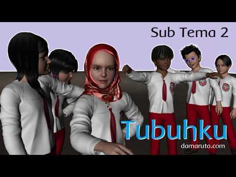 Tubuhku - Videobook Tematik Kelas 1 - Sub Tema 2