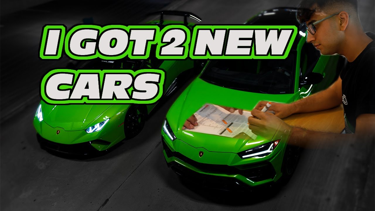 I Bought Two New Lamborghinis *Huracan Performante and Urus*