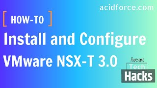 Vmware Nsx-t 3.0 Install And Configure Full Steps