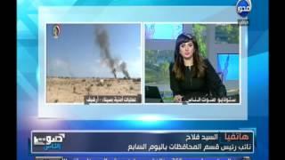 شاهد - مقتل 3 ارهابيين والقبض على 19 مشتبها بهم واحباط 4 محاولات لتفجيرات بسيناء