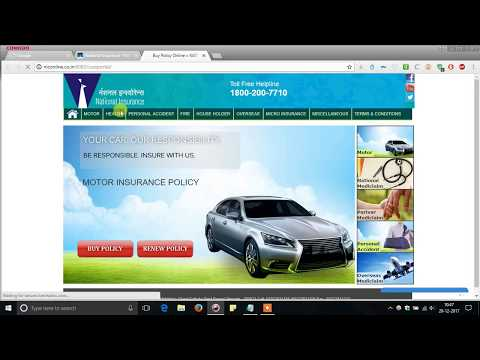 how to renew two wheeler motor insurance at home