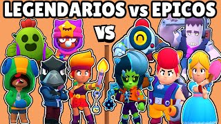 LEGENDARY VS EPICS | WHICH IS BEST QUALITY? | BRAWL STARS OLYMPICS