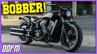 2018 Indian Scout Bobber Preview & Harley Davidson Sales Are Down!